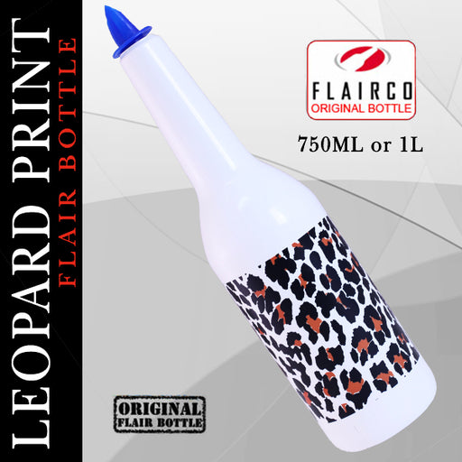 Leopard Print Flair Bottle - 750ML and 1L