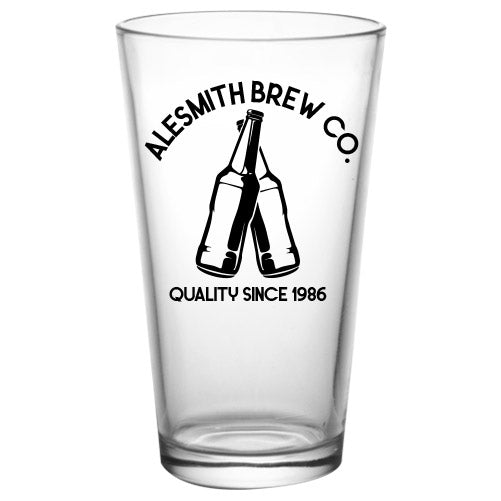 CUSTOMIZABLE - 16oz Pint / Mixing Glass- Brew2