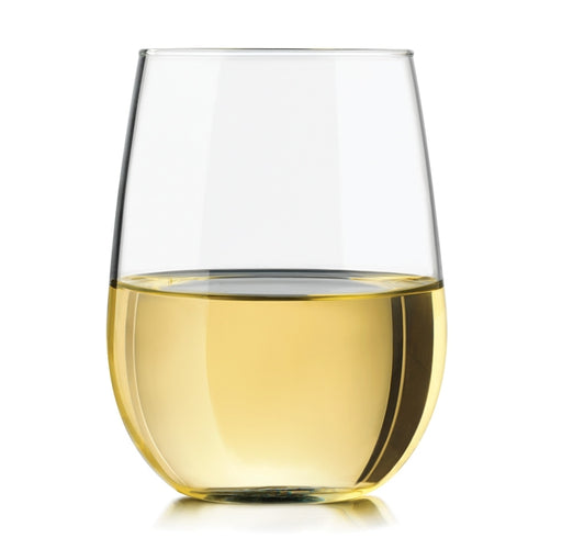 Libbey 221 17 oz. Stemless White Wine Glass - 12/Case