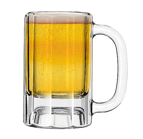 Libbey 5019 10 oz. Paneled Mug - Case of 12