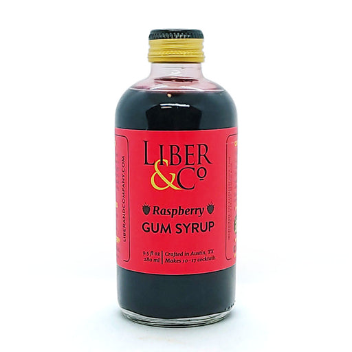 Liber & Co Raspberry Gum Syrup - 9.5oz Bottle