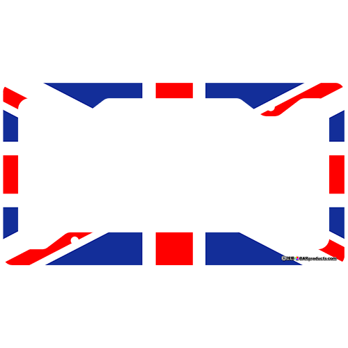 License Plate Frame - UK Flag