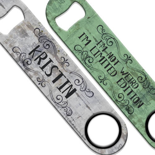 ADD YOUR NAME Speed Bottle Opener - Limited Edition