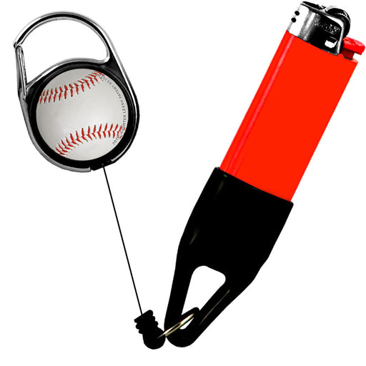 Premium Clip Lighter Leash® - Sports- Baseball