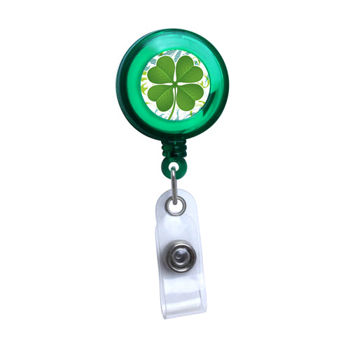 Green - Lucky Sham Series, Translucent Badge Reel