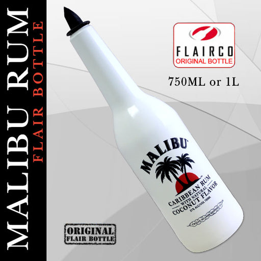 Malibu Rum Flair Bottles - 750ML and 1L