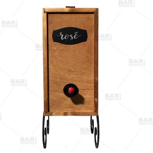 Light Maple Finish- Box Wine Dispenser – 3L Capacity