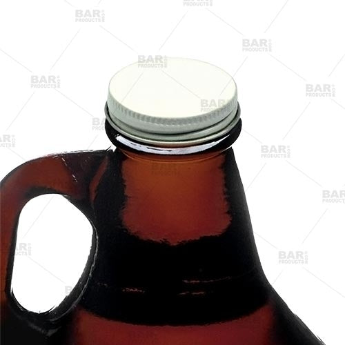 Metal Growler Cap with Plastisol Liner - 38mm Lid