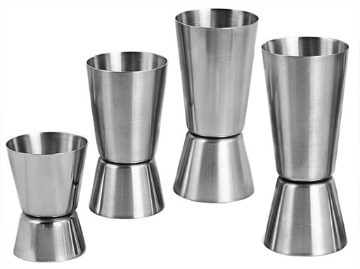 BarConic® Jigger -Metric Double Sided - Stainless Steel w/ Size Options