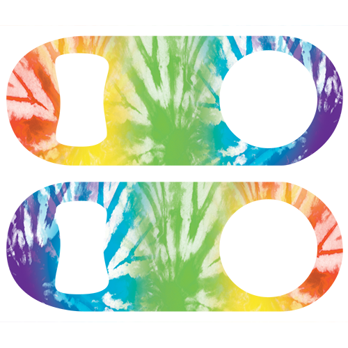 Tie dye Zebra Mini Speed Opener