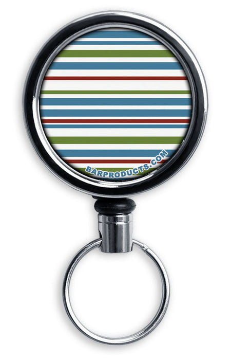 Mirrored Chrome Retractable Reel ONLY – Stripes