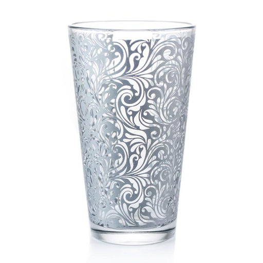 Mixing Glass - Silver Swirl (16oz)