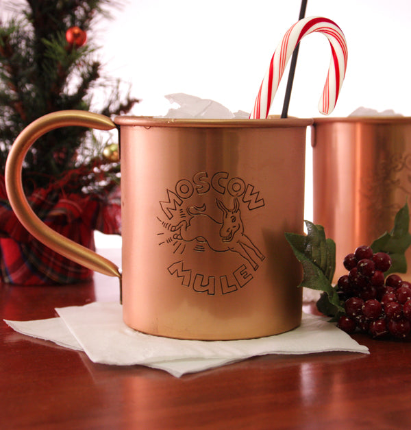 16 ounce Copper Moscow Mule Mug