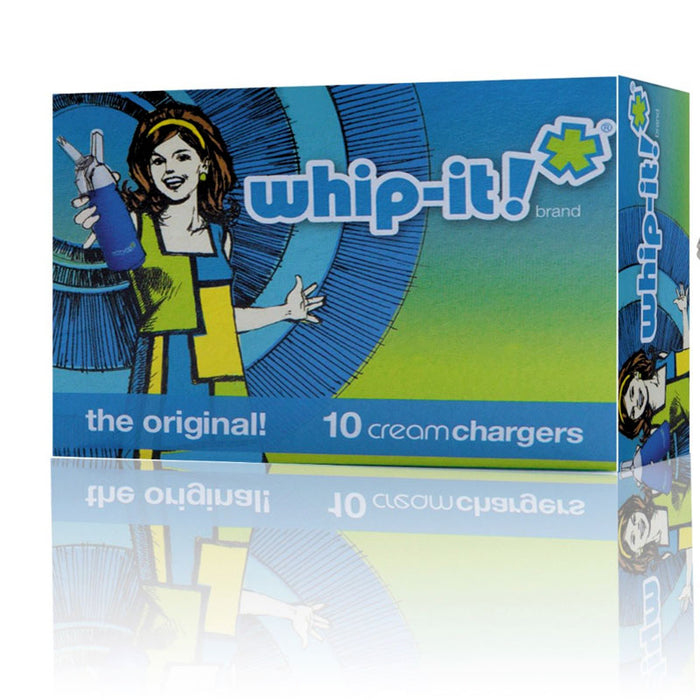 Whip-It! Pro Whipped Cream Dispenser and Chargers