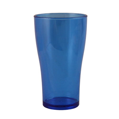 BarConic® Drinkware - Neon Blue Polycarbonate Cup - 14 ounce