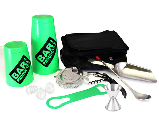 Neon Green Tipsy Bartender Bar Package Set