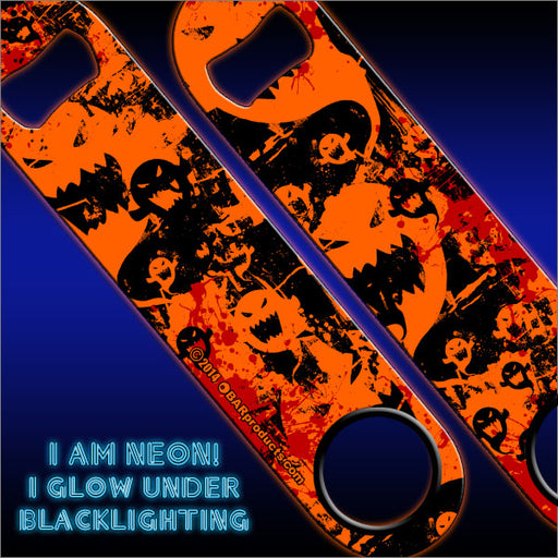 Kolorcoat™ Bottle Opener - Ghosts - NEON Orange