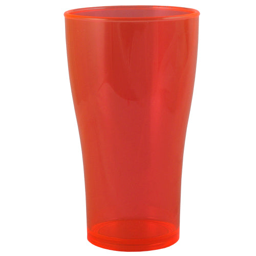 BarConic® Drinkware - Neon Orange Polycarbonate Cup - 570 ML