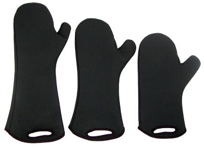 "Oven Mitts - Neoprene ""Non-Slip"" - All Sizes"