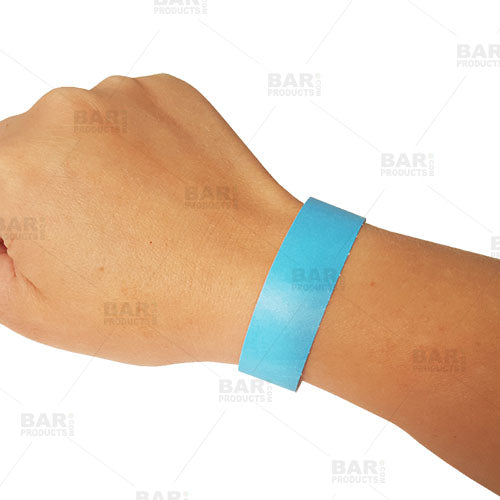 Paper Numbered Wristbands - Disposable