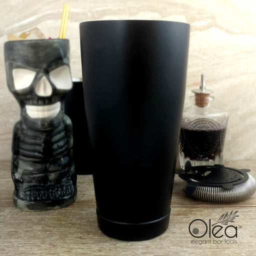 Olea™ Cocktail Shaker - Matte Black - 28oz Weighted
