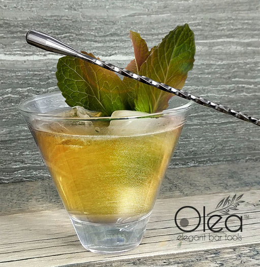 Olea™ Gunmetal Plated Bar Spoon - Weighted Tip - 30cm Length