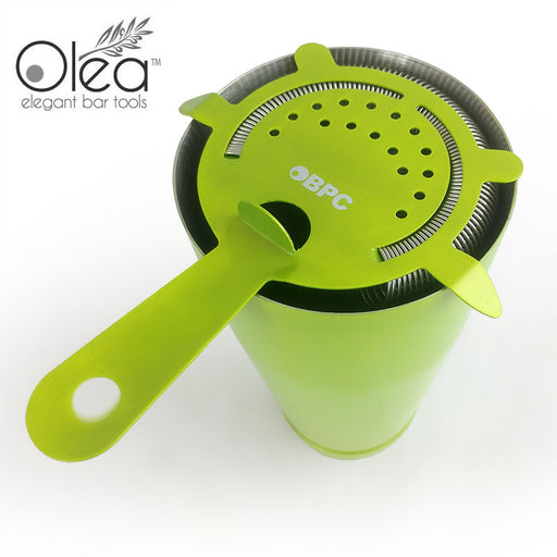 Olea™ Cocktail Strainer - 4 Prong - Metallic NEON Lime Green