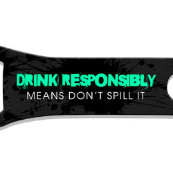 V-Rod® Bottle Opener - Don't Spill It