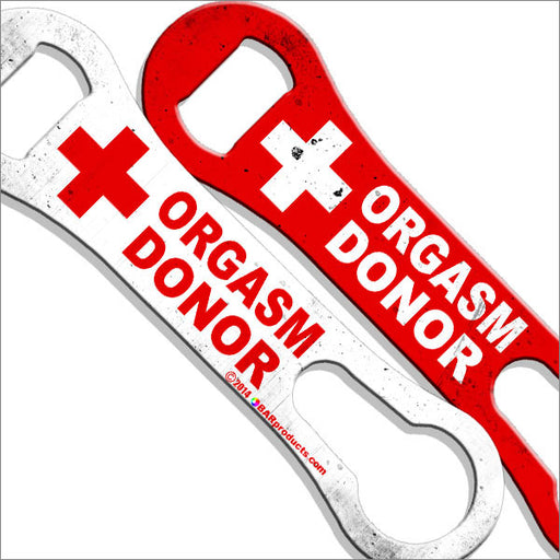 Orgasm Donor - Kolorcoat™ V-Rod® Bottle Opener