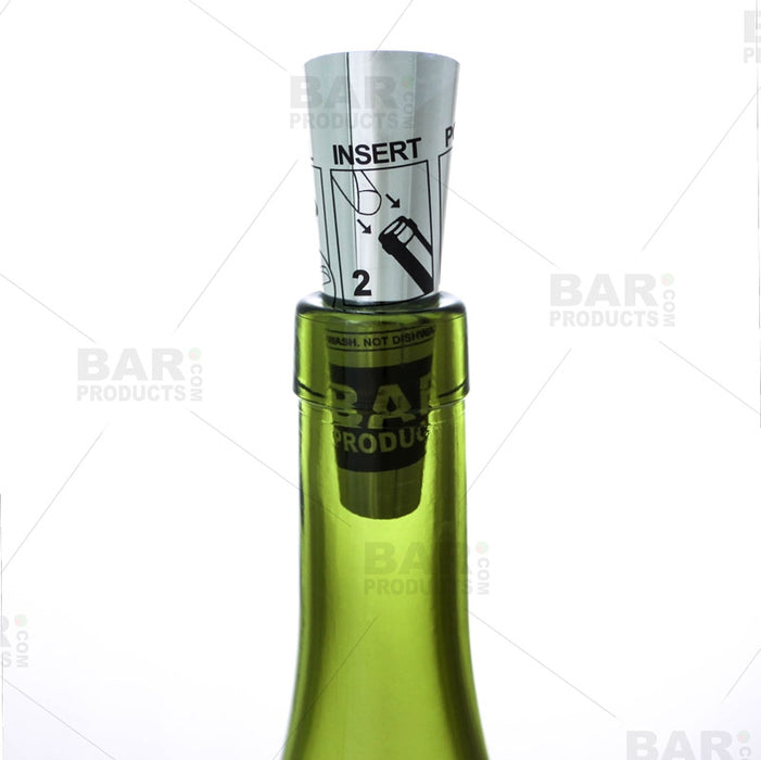 The Perfect Pour, Foldable, Food Safe Wine Pourer (BPC)