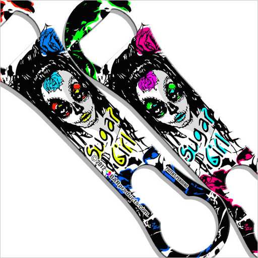 Painted Sugar Skull V-Rod® Bottle Opener