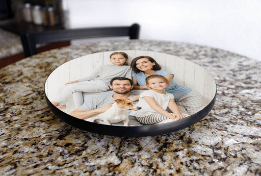 UPLOAD YOUR PHOTO - Personalized Lazy Susan - 3 Size Options
