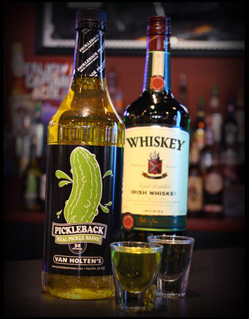 Pickleback Whiskey Shot