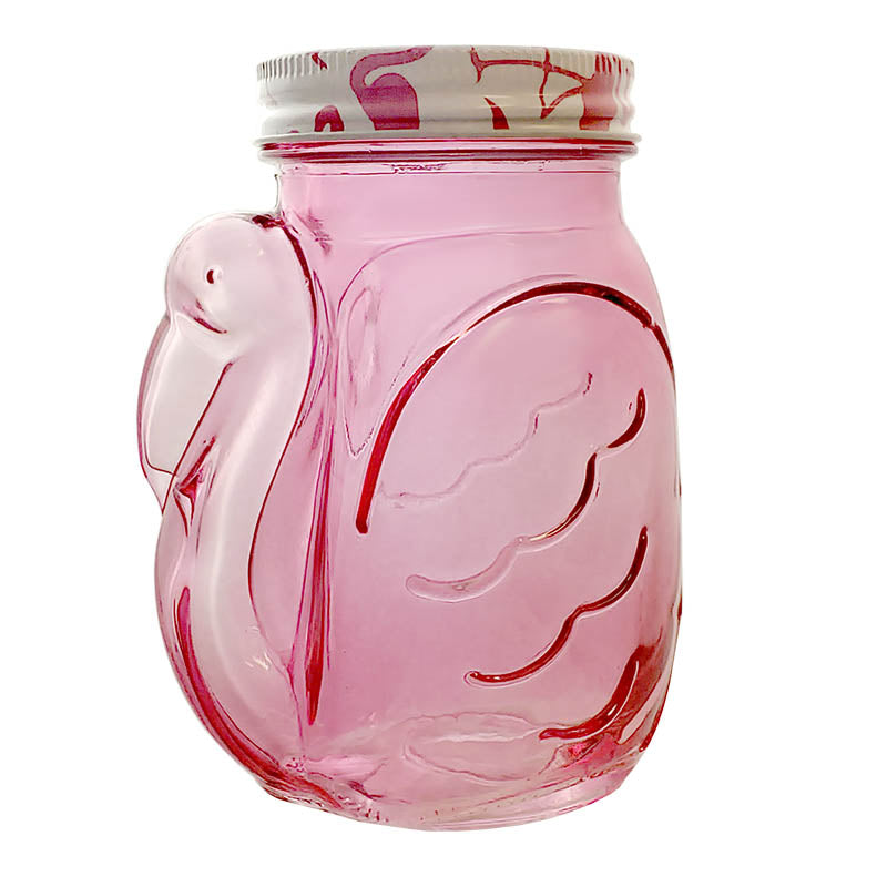 BarConic® Glassware - Pink Flamingo Glass - 18 ounce