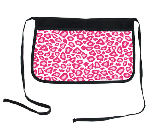 Pink Leopard Two-Pocket Kolorcoat™ Server Apron
