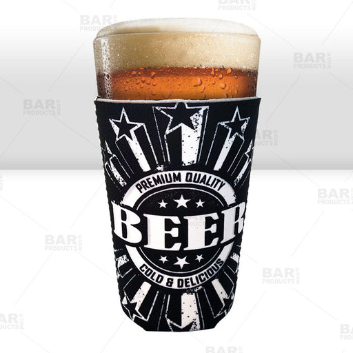 Pint Glass Cooler - Premium Quality Beer