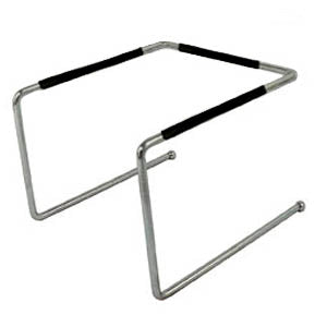 Pizza Tray Stand - Chrome Plated - Options
