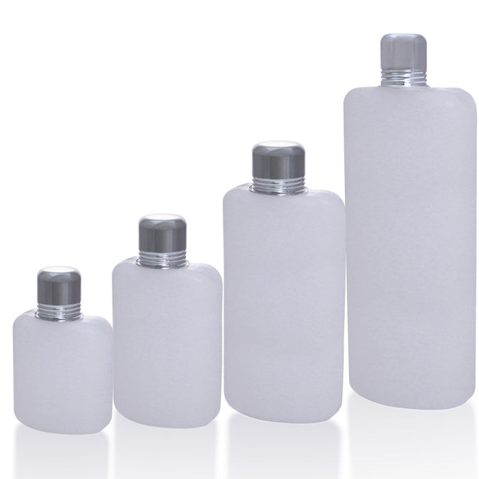 Plastic Travel Flask - Available in 4 Sizes