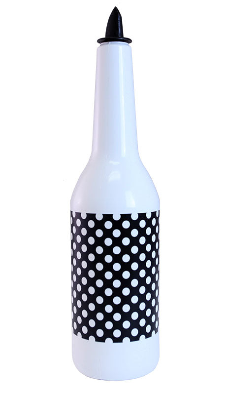 Kolorcoat™ Flair Bottle - B/W Polka Dots Design - 750ml