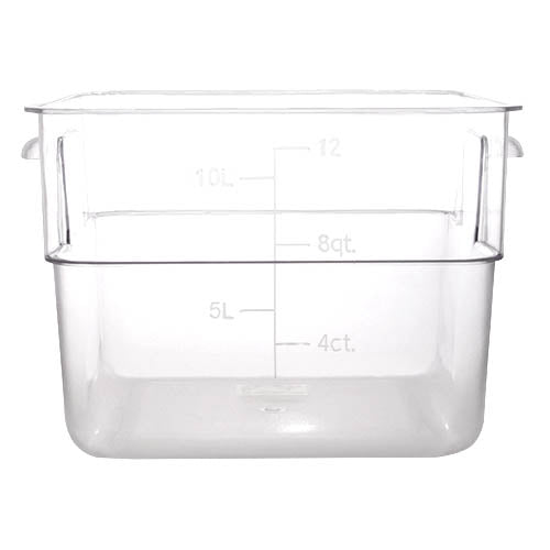 Polycarbonate Storage Container 12 Qt