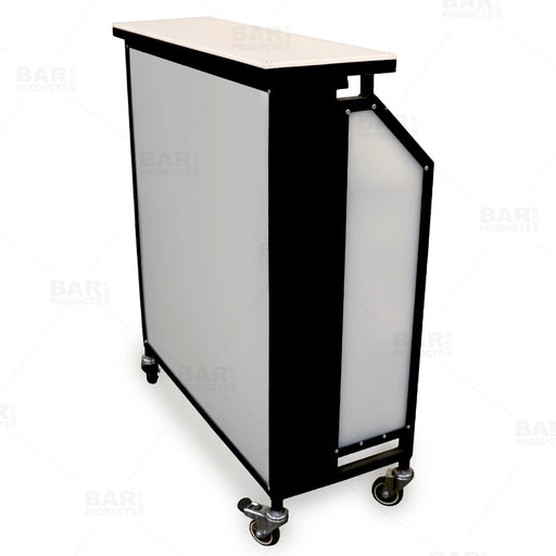 Barconic® Compact Portable Bar - 3 Ft. Wide with LED Light