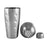 Premium 3 Piece 28 oz. Dimple Shaker
