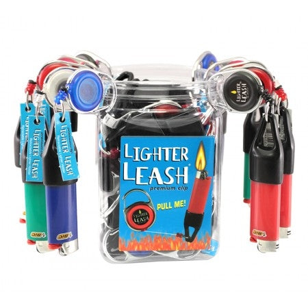 Premium Clip Lighter Leash - JUG of 30