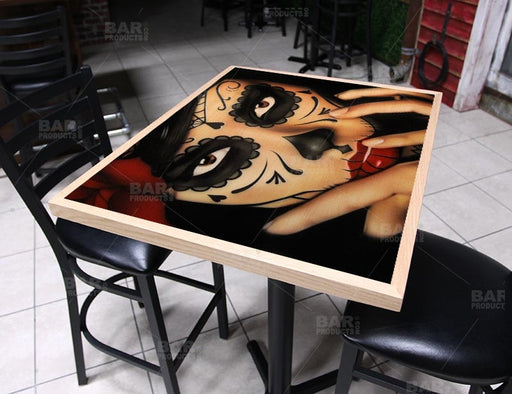 "Priscila 24"" x 30"" Wooden Table Top - Two Types Available"