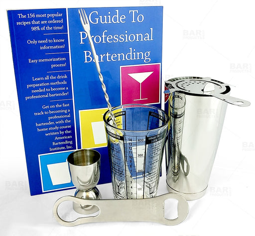 Bar Set - Professional Bartending Start Up Kit