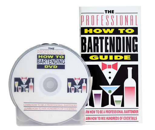 The Professional 'How to' Bartending DVD and Video Guide