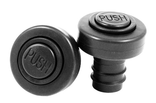 Two Push Button Wine Stoppers