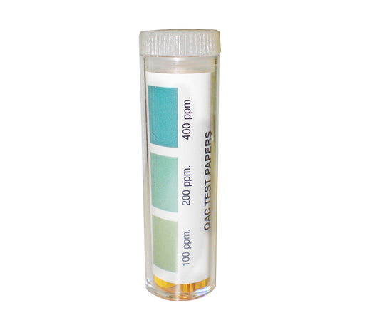 Sanitizer and PH Test Strips Ammonia (Quat)