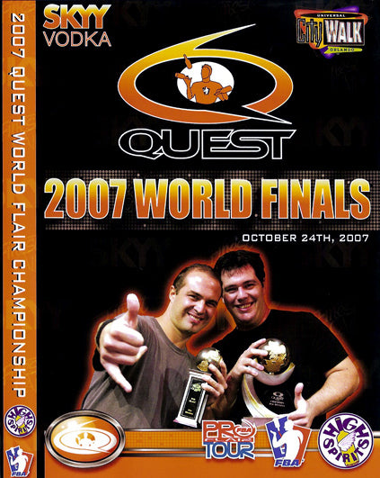 Quest 2007 - Finals DVD