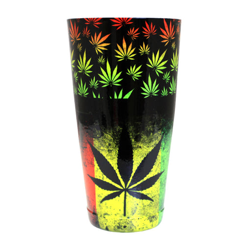 Cocktail Shaker Tin - Printed Designer Series - 28oz weighted - Rasta